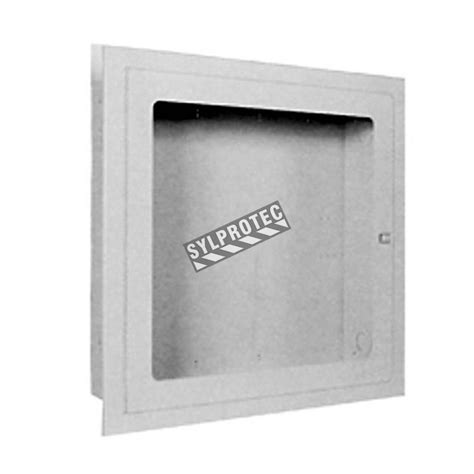 recessed extinguisher cabinet detail recessed cabinet for hose and 5 or 10 lbs extinguisher