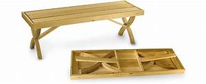 Folding Bench Plan by Lee Valley - Lee Valley Tools