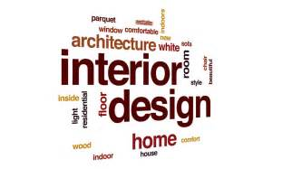 Home Design Words : Interior Design Animated Word Cloud, Text Design Animation