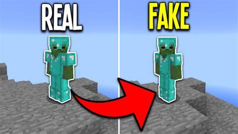 Fake Diamond Armor Challenge In Minecraft Pocket Edition
