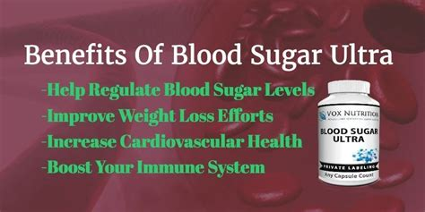 introducing   private label blood sugar ultra vox