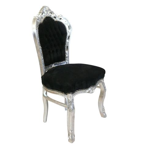 chaise style baroque black baroque chair ls bronze statues
