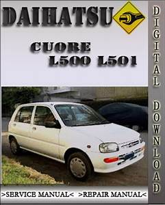 Daihatsu Cuore L500 L501 Factory Service Repair Manual