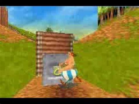 gba asterix  obelix xxl gameplay youtube