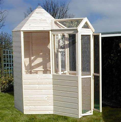 aviary shed hexagonal aviary 4 6x7