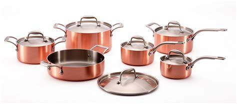 batterie de cuisine en cuivre a vendre cuisine les articles de cuisson outils et accessoires