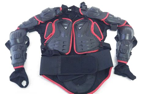 Motorcycle Armor Vest Protection Full Sleeves Xxl