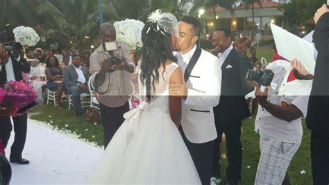 majid michels wedding  ghallywood actor wife