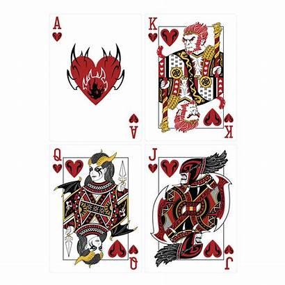 Playing Cards Dota Hearts Dota2 Valve Face