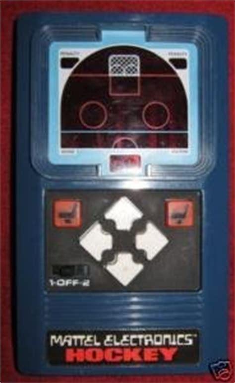 amazoncom  mattel electronics hockey game toys games