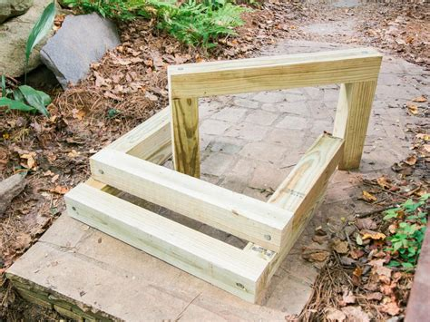 How To Build Outdoor Wood Steps  Howtos Diy