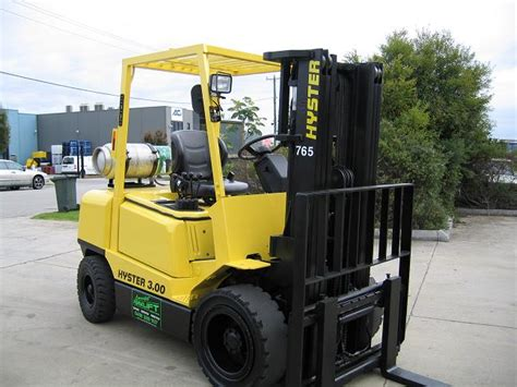 hyster hdx container mast
