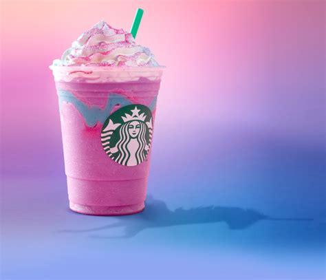 unicorn frappuccino starbucks drink  food