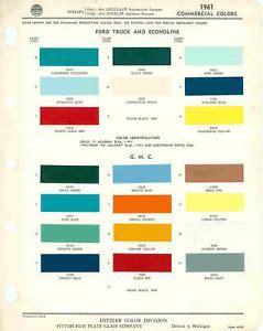 ppg paint color chart images