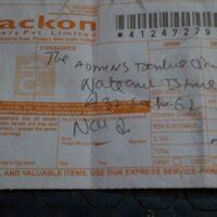 trackon couriers deficiency  service review