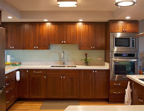 Sapele Kitchen from Design Trends Construction ? Open Door