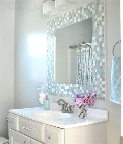 Mirror Tiles Bathroom by Trending Diy Mirror Projects Mosaic Tile Bathrooms