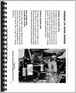 Ford 5000 Tractor Operators Manual