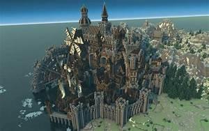 Conderial Steampunk City – Minecraft Building Inc