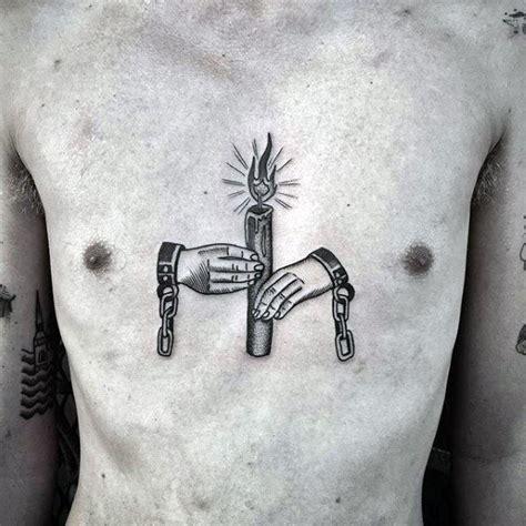 traditional candle tattoo designs  men illuminated