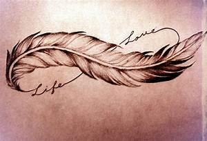 Tatouage Plume Indienne Signification : tatouage infini plume poignet mod les et exemples ~ Melissatoandfro.com Idées de Décoration