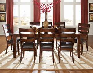 9 pieces dining room sets home design ideas for Dining room pieces
