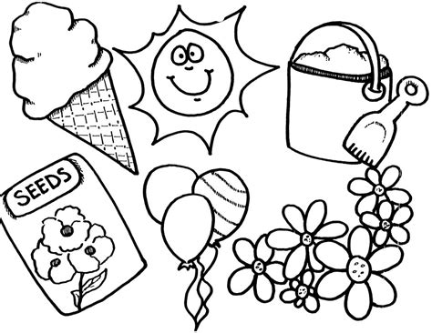 spring coloring pages for preschoolers new and summer coloring pages for preschoolers 2014 784