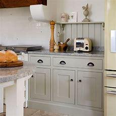 Neutral Shakerstyle Kitchen  Kitchen Decorating