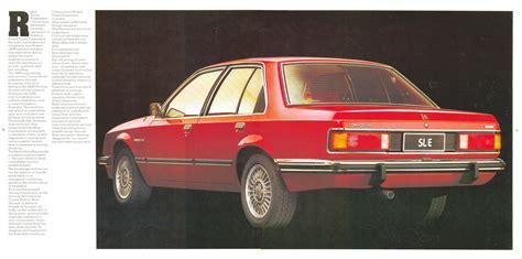 1978 Holden Commodore Brochure