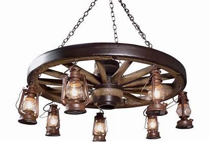 Wagon Wheel Chandelier Chandeliers Lanterns Rustic History