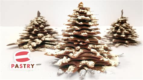 how to make a chocolate christmas tree chocolate