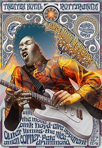 Jimi hendrix, Pink floyd concert and Concert posters on ...