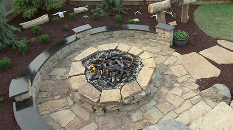 build  outdoor stone fire pit outdoorfeeds