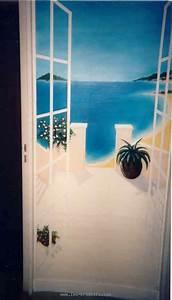 Deco Porte Interieure En Trompe L Oeil : peinture en trompe l 39 oeil de portes ~ Carolinahurricanesstore.com Idées de Décoration