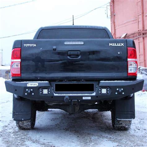 hardman tuning rear bumper rival toyota hilux 2007 2015 shop