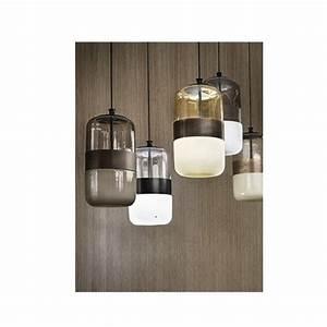 Italienische Lampen Designer : futura italienische glaspendelleuchte mit manschette ~ Watch28wear.com Haus und Dekorationen
