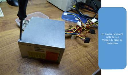 ordianteur de bureau reparation boitier alimentation hipro 300w atx ordianteur