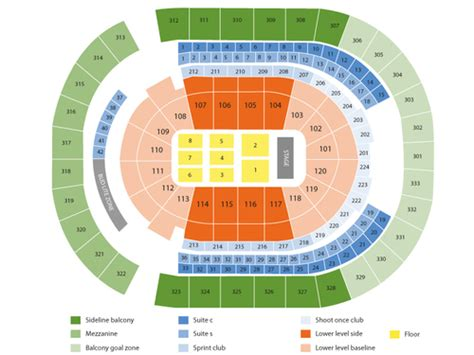 Bridgestone Arena Seating Chart & Events In Nashville, Tn