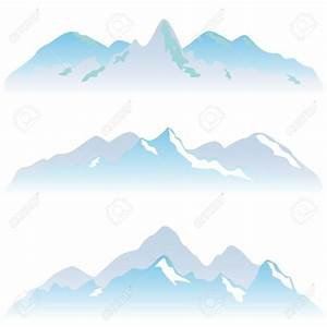 Snow Mountain Clipart - ClipartXtras