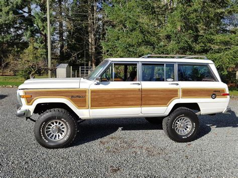 classic jeep wagoneer lifted vintage classic 1989 jeep wagoneer grand offroad for sale
