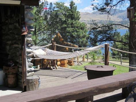canyon ferry lake real log cabin