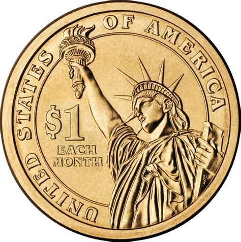 one dollar coin file cash flow token coin one dollar each month png