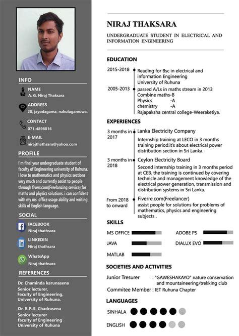 design   smart  professional cv  cover letter