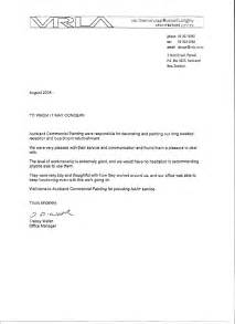 Example Testimonial Reference Letter