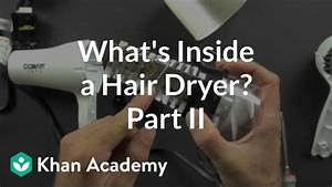 What Is Inside A Hair Dryer   2 Of 2