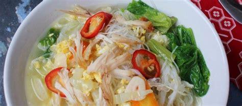 Resep capcay kuah dan capcay goreng merupakan salah satu jenis masakan chinese food yang cukup populer bagi masyakarat indonesia. Resep Soun Kuah | Resep makanan, Makanan, Resep