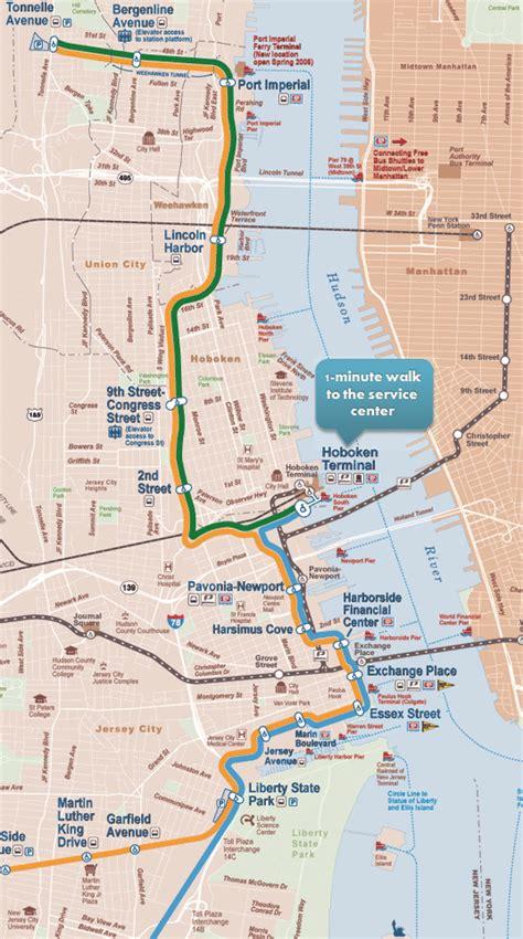 nj light rail map about us hoboken hours location
