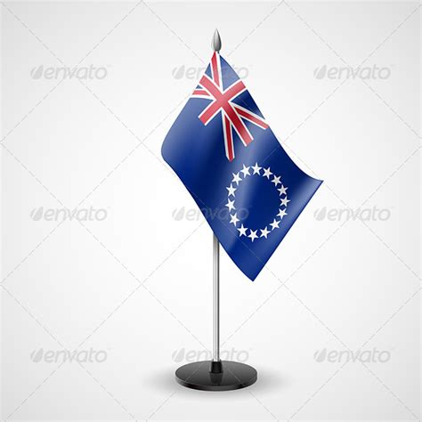 Cook Island Flag Template by Flagstaff 187 Dondrup