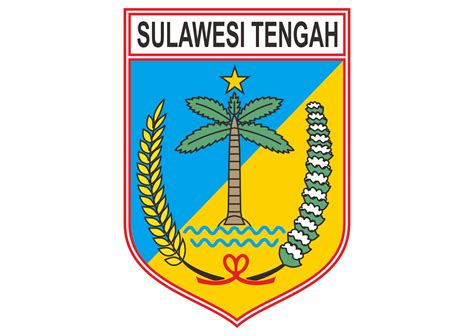 provinsi sulawesi tengah logo vector format cdr ai eps
