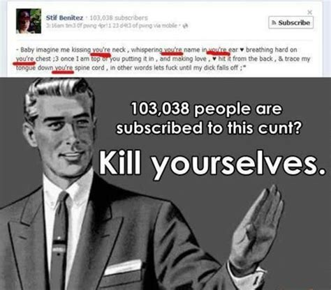 Kill Your Self Meme - kill yourself kill yourselves kill yourself know your meme